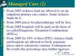 managed care 2