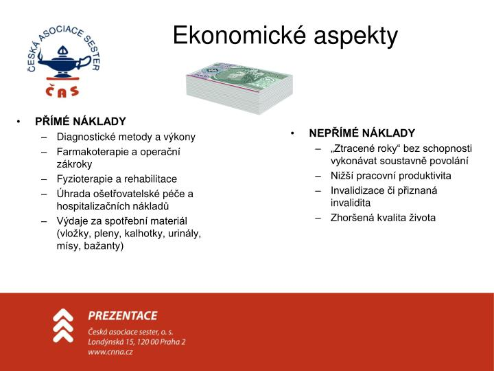 Ekonomické aspekty