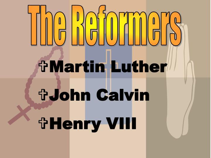 a comparison and contrast of martin luther and john calvin Compare and contrast calvinism and luthernism § founded by john calvin § § founded by martin luther.