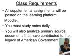 class requirements1