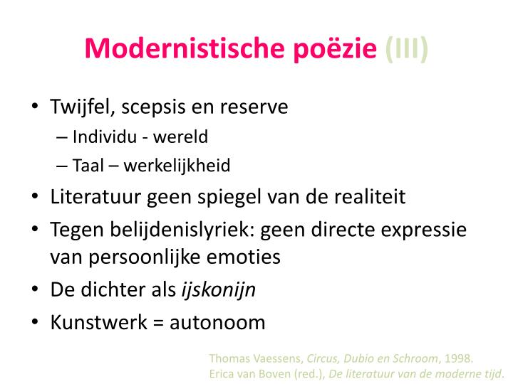 Modernistische