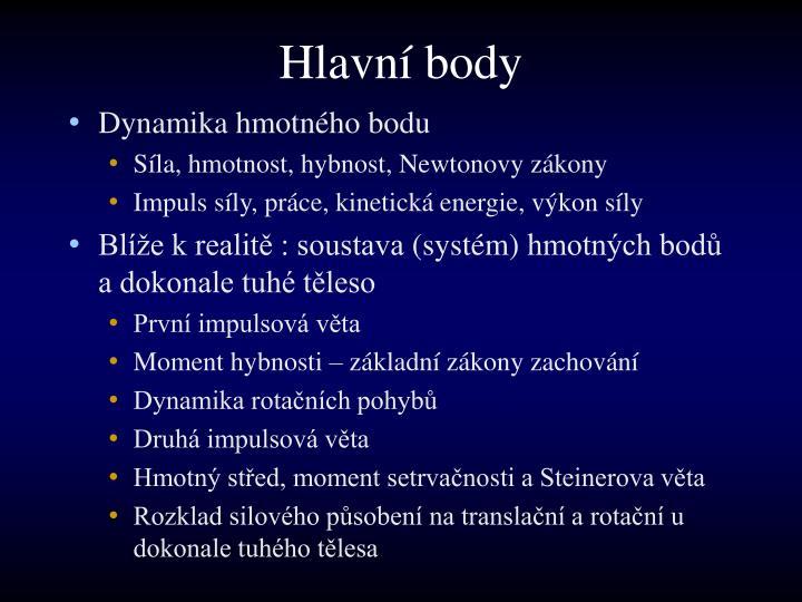 Hlavn body