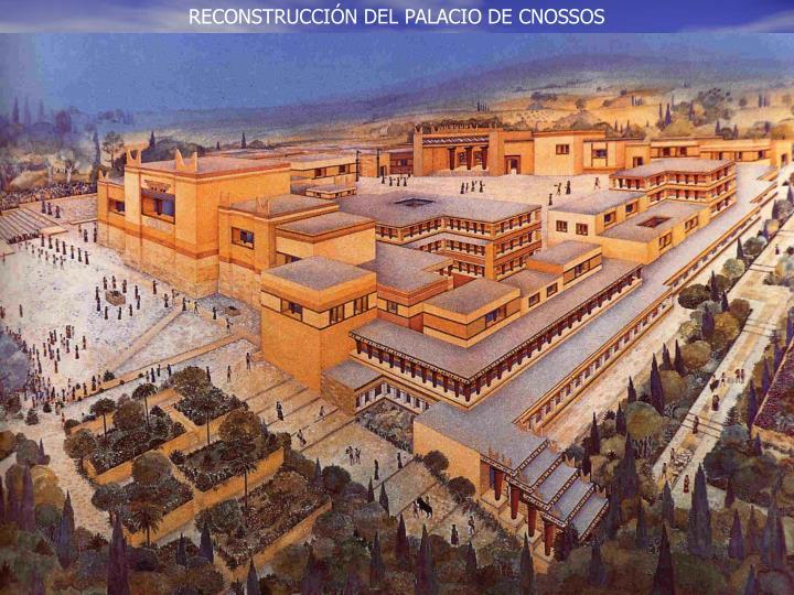 RECONSTRUCCIÓN DEL PALACIO DE CNOSSOS