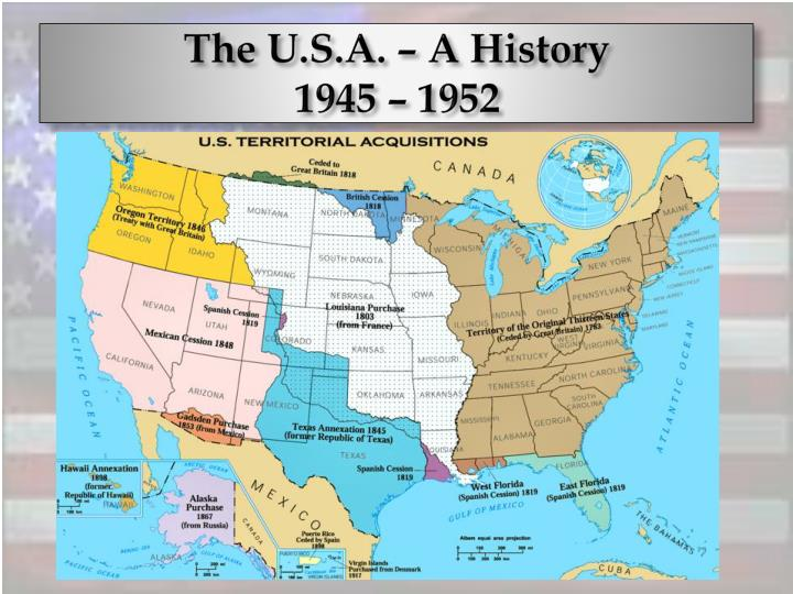 the u s a a history 1945 1952 n.