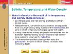 salinity temperature and water density2