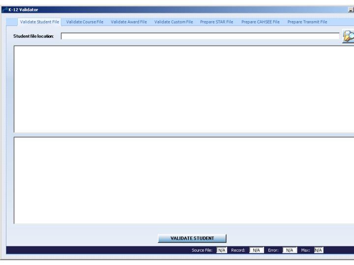 Creating, Validating, and Uploading Customized Files