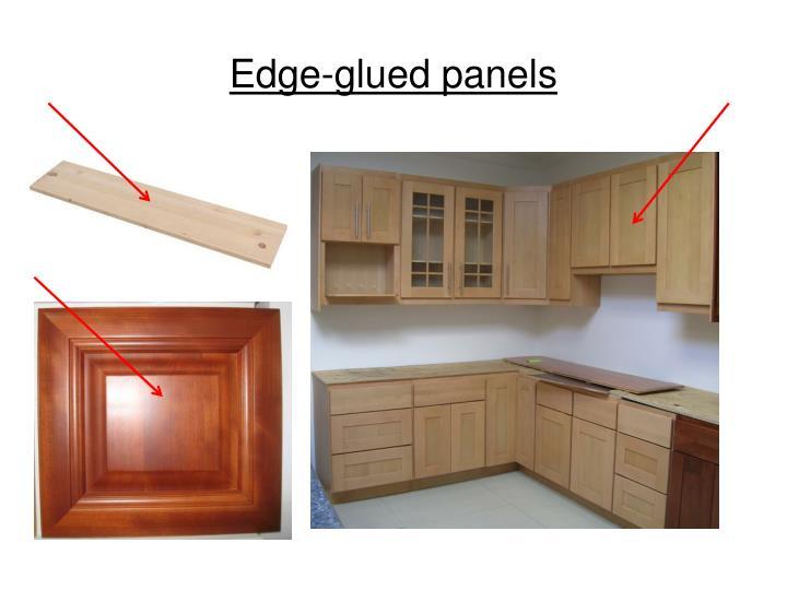 Edge-glued panels