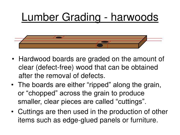 Lumber Grading - harwoods