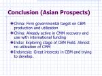 conclusion asian prospects