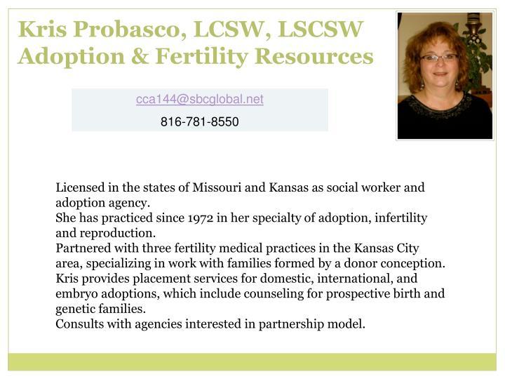 Kris Probasco, LCSW, LSCSW
