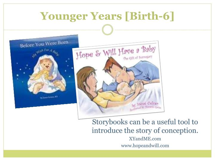 Younger Years [Birth-6]