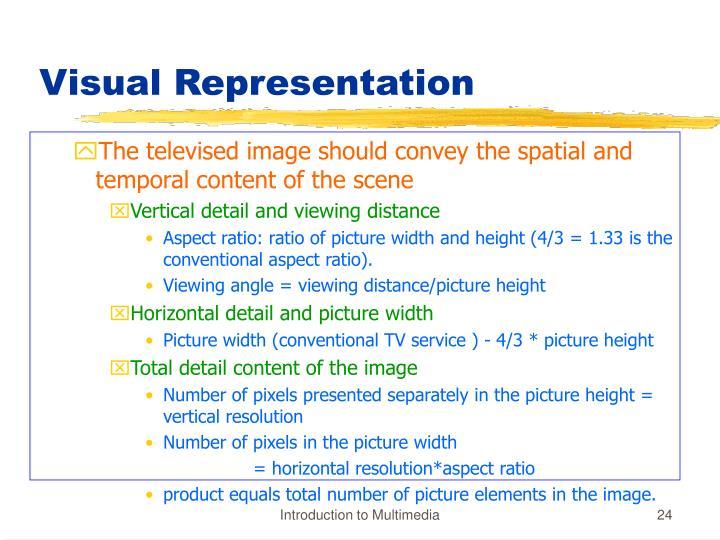 Visual Representation