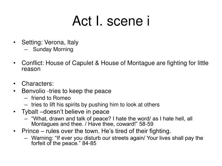 Act i scene i