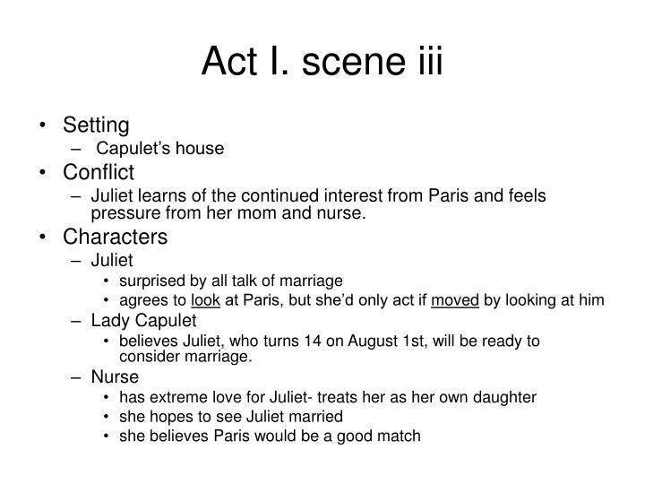 Act I. scene iii