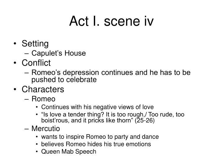 Act I. scene iv