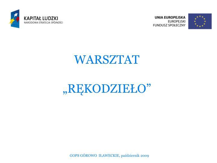 WARSZTAT