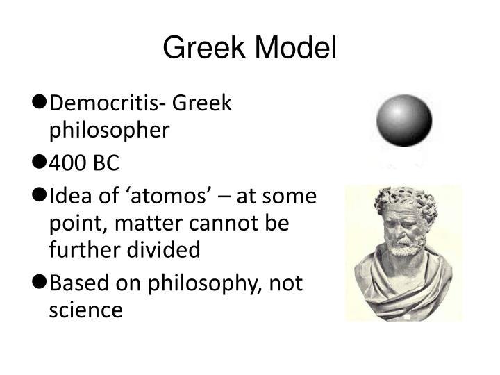 Greek Model