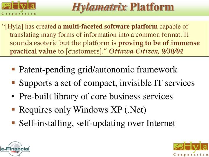 Hylamatrix