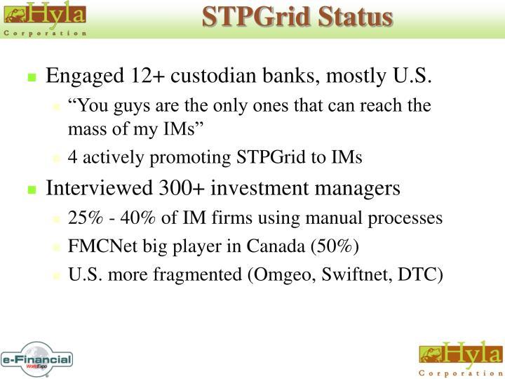 STPGrid Status