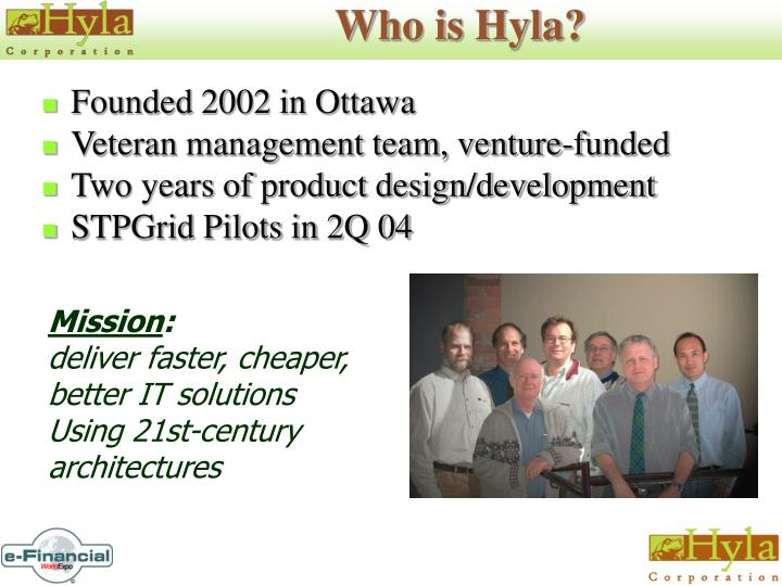 Who is hyla