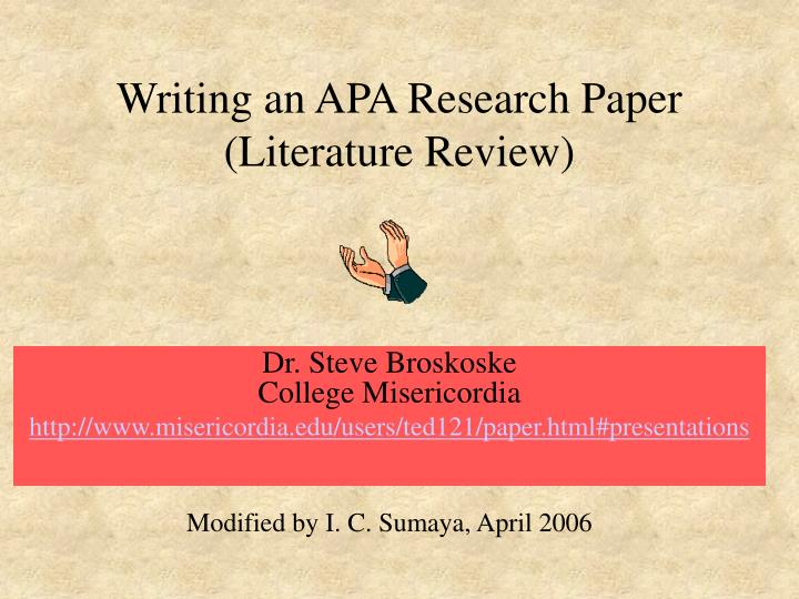 apa guide to research papers Welcome to a research guide we're here to help you write your research papers scholars and librarians have collated some of the best resources for literary research and we have the latest styleguides to guide you through footnoting, referencing and bibliographies.