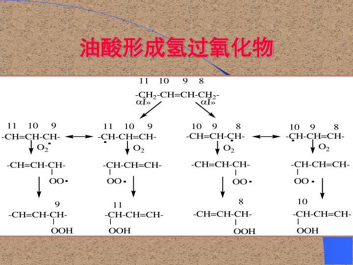 油酸形成氢过氧化物