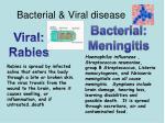 bacterial viral disease