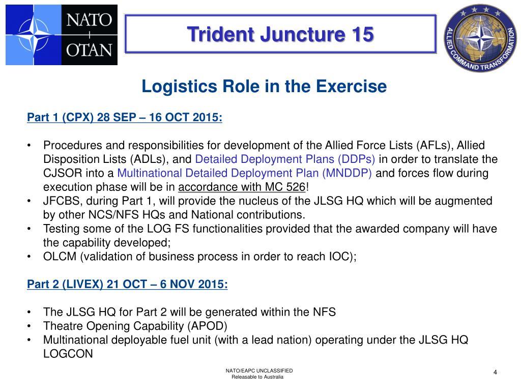 PPT - TRIDENT JUNCTURE 15 Planning Update 12 Feb 2014