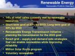 renewable energy renewable portfolio standard