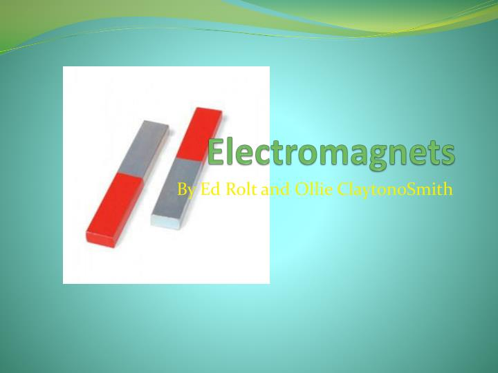 electromagnets n.