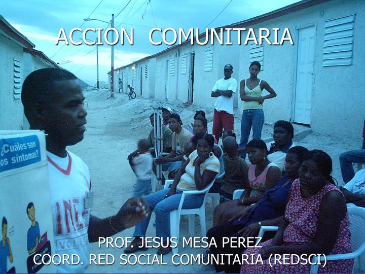 ACCION  COMUNITARIA
