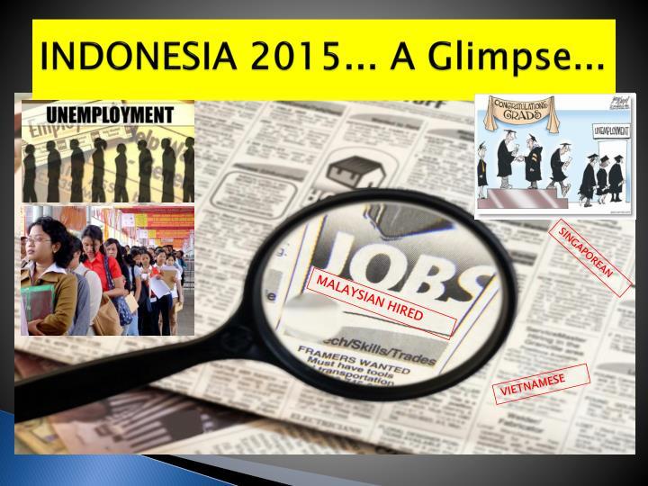 INDONESIA 2015... A Glimpse...