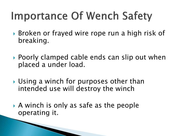 PPT - Winch Safety PowerPoint Presentation - ID:6147602
