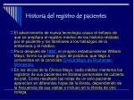 historia del registro de pacientes4