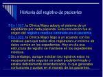 historia del registro de pacientes5