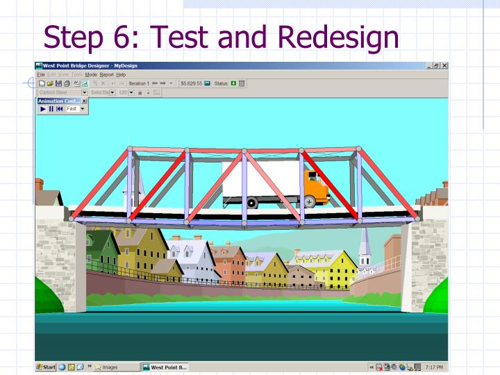 Step 6: Test and Redesign