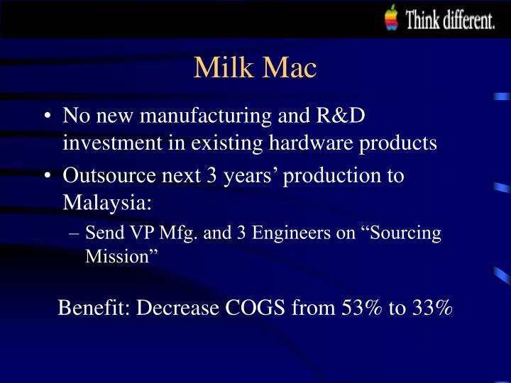 Milk Mac