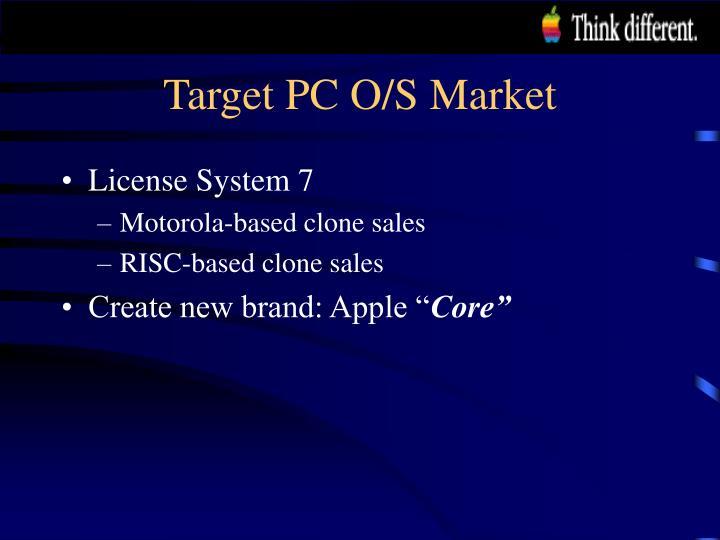 Target PC O/S Market