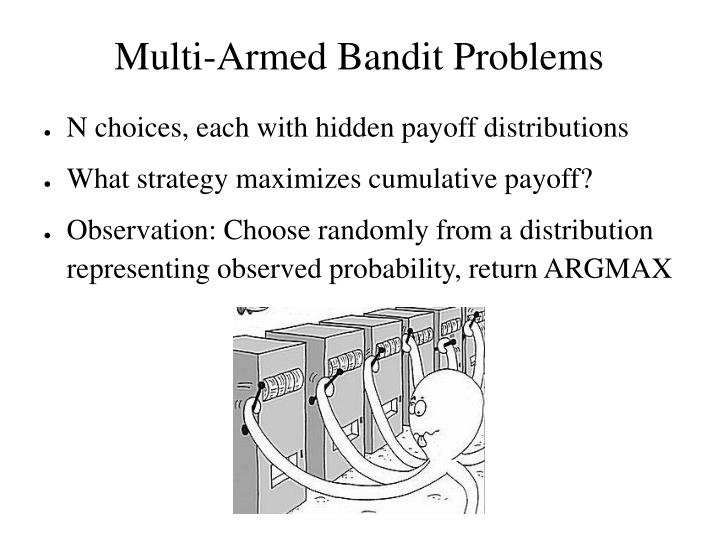 Multi-Armed Bandit Problems