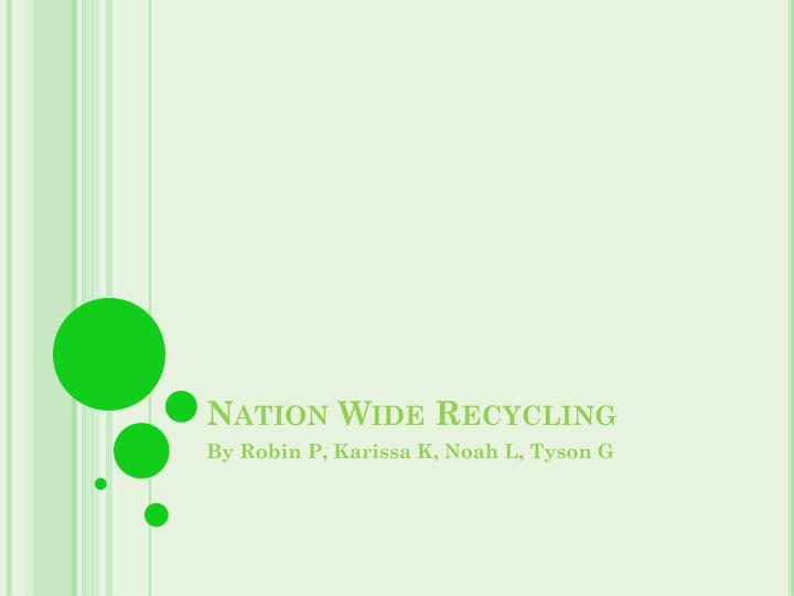 nation wide recycling n.