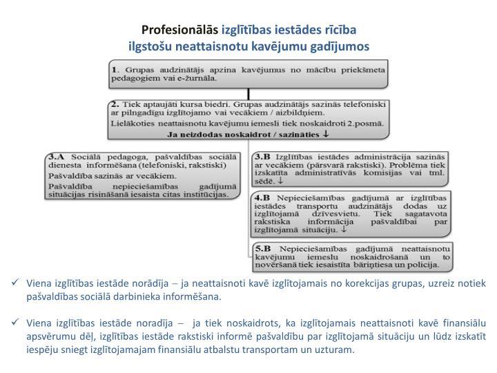 Profesionālās