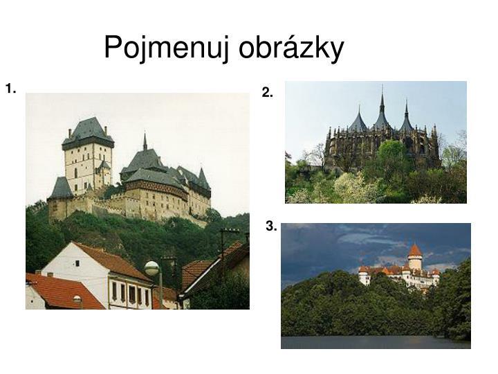 Pojmenuj obrázky