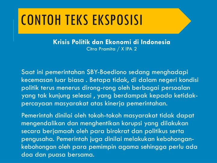 Ppt Teks Eksposisi Powerpoint Presentation Id 6149041