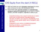 ch5 equity from the start 4 recs