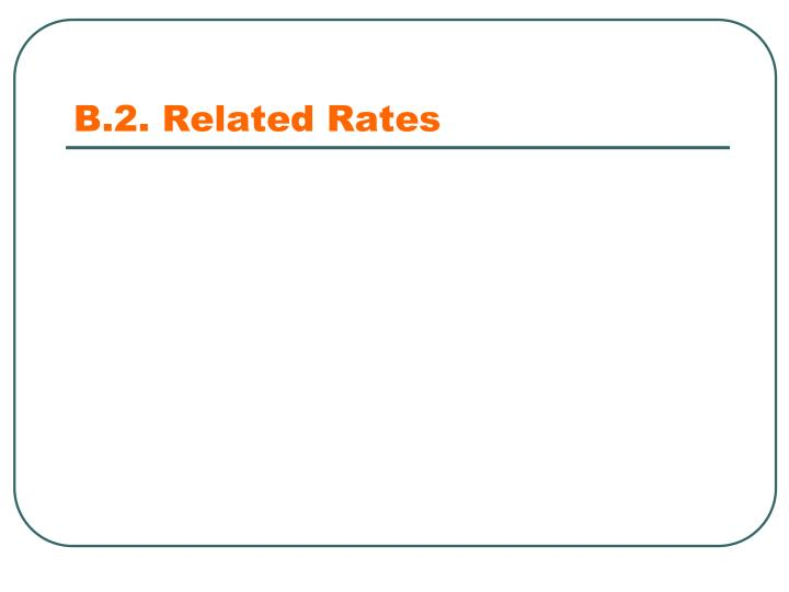 B.2. Related Rates