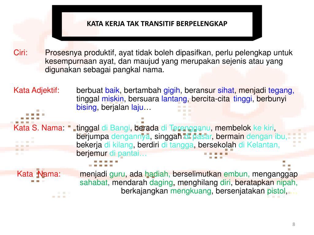 Ppt Frasa Kerja Powerpoint Presentation Free Download Id 6149482