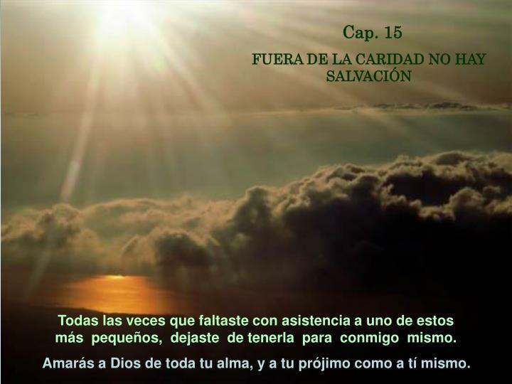 Cap. 15
