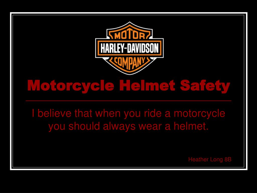 Ppt motorcycle safety powerpoint presentation id:6789850.