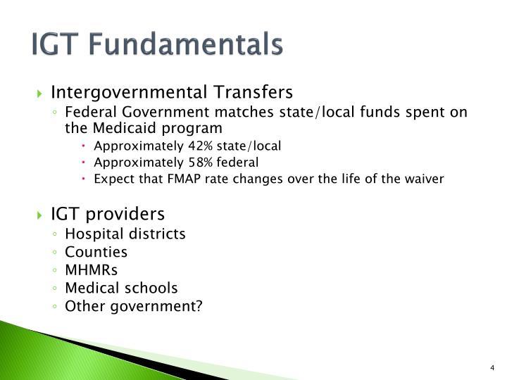 IGT Fundamentals