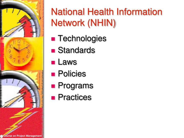 National Health Information Network (NHIN)